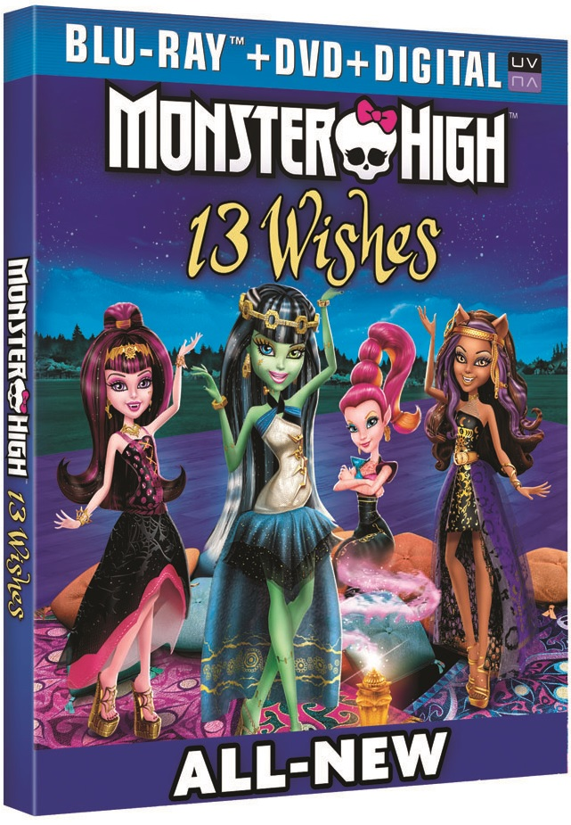 Monster High 13 Wishes Blu-ray Review