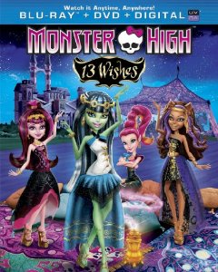 Monster High 13 Wishes Blu-ray