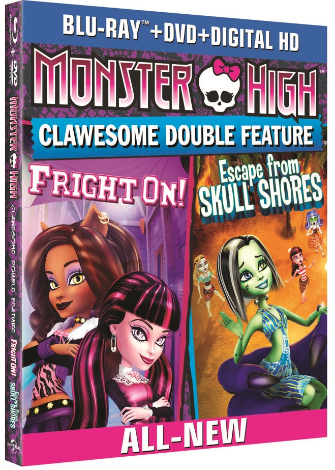 Monster High Clawesome Double Feature