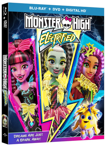 MONSTER HIGH ELECTRIFIED Blu-ray