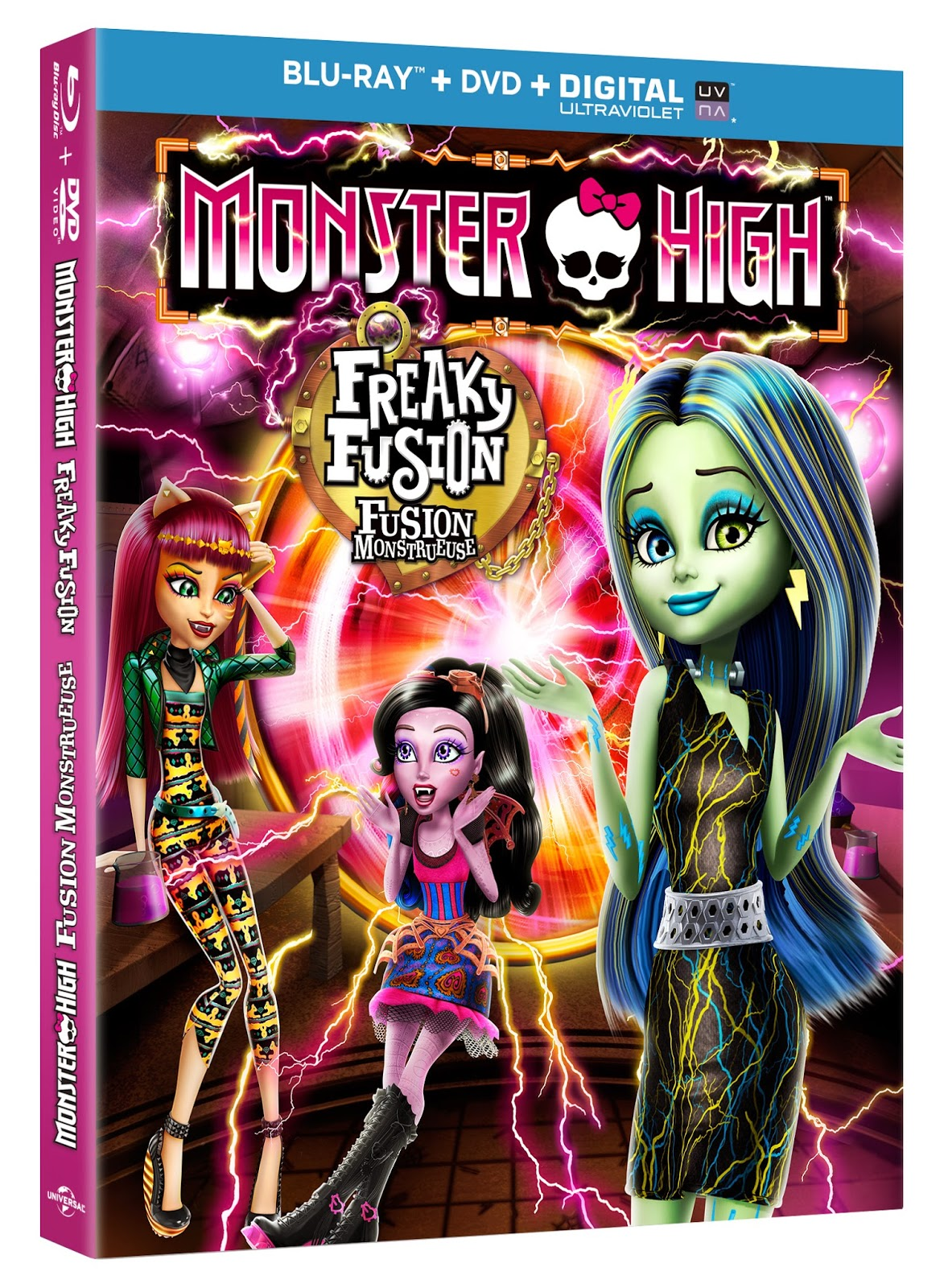 Monster High Freak Fusion Blu-ray Review