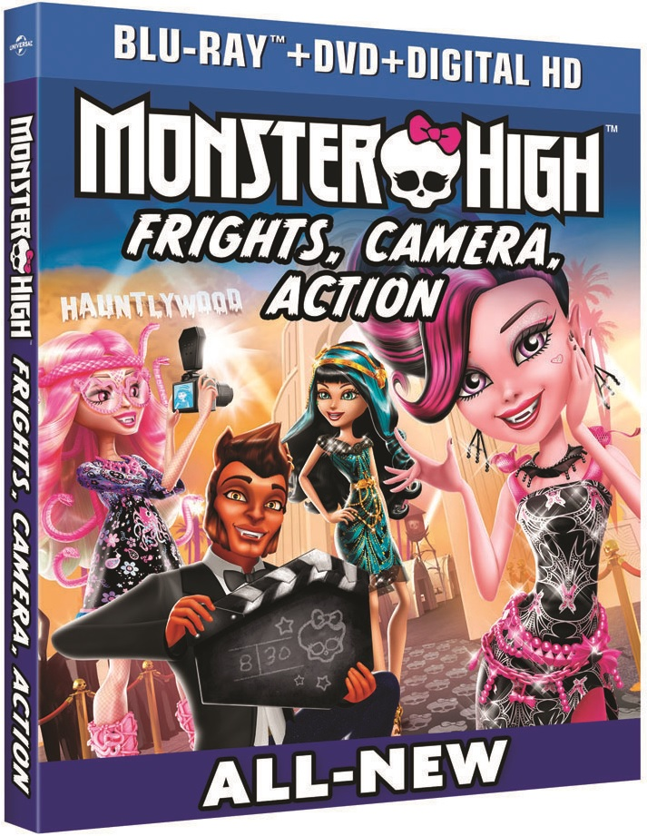 Monster High Frights, Camera, Action Blu-ray Review