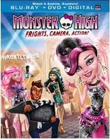 Monster High Frights, Camera Action Blu-ray Release