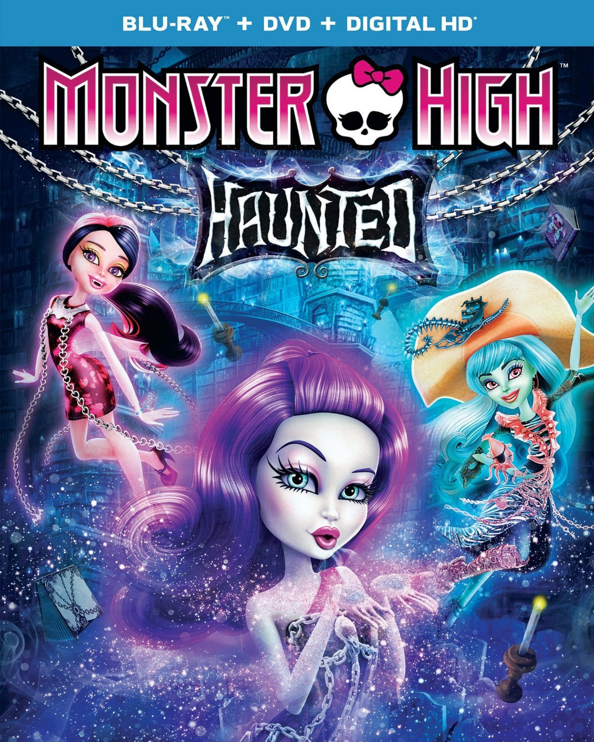Monster High Haunted Blu-ray Review