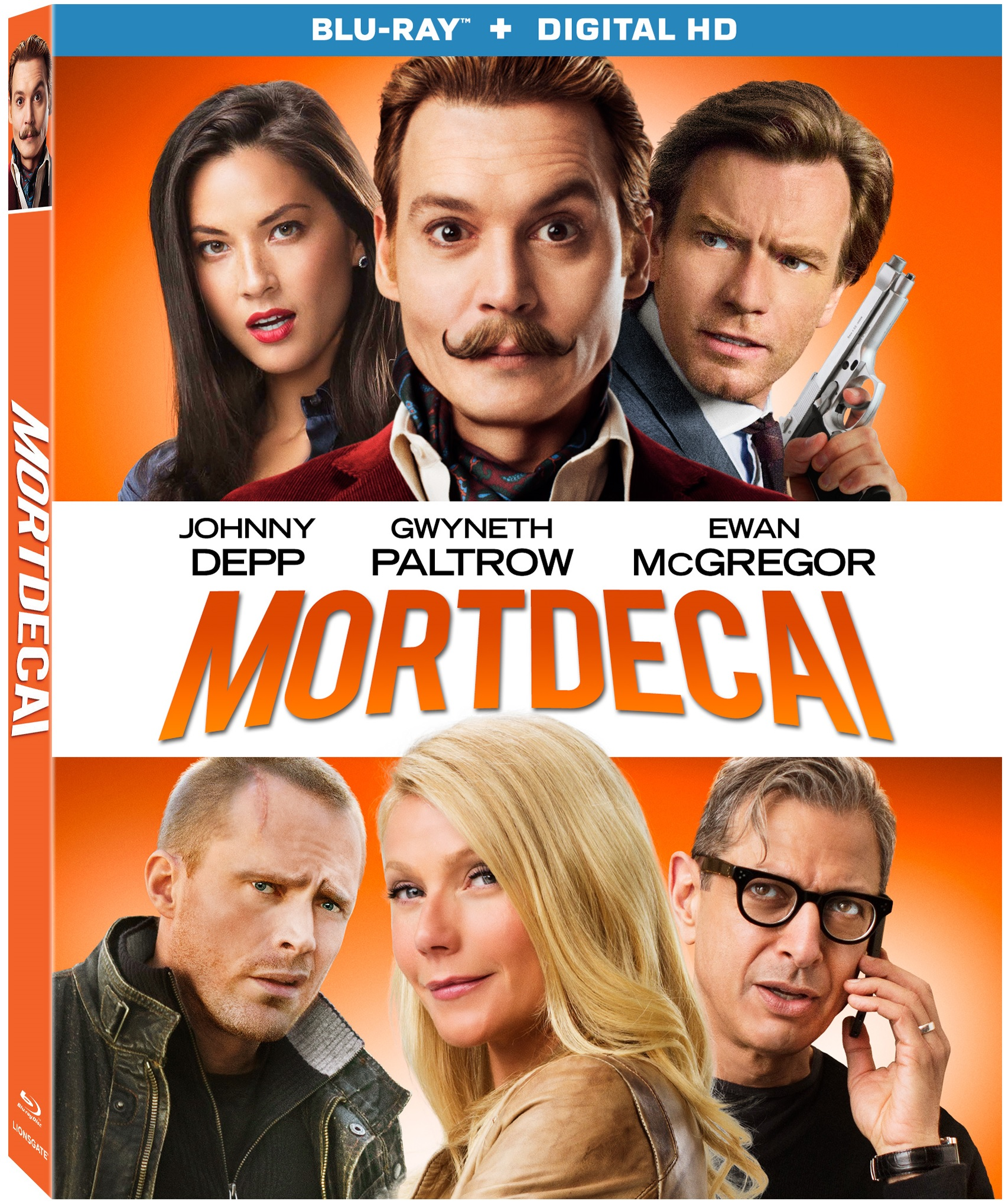 Mortdecai Blu-ray Review