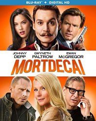 Mortdecai (Blu-ray + DVD + Digital HD)