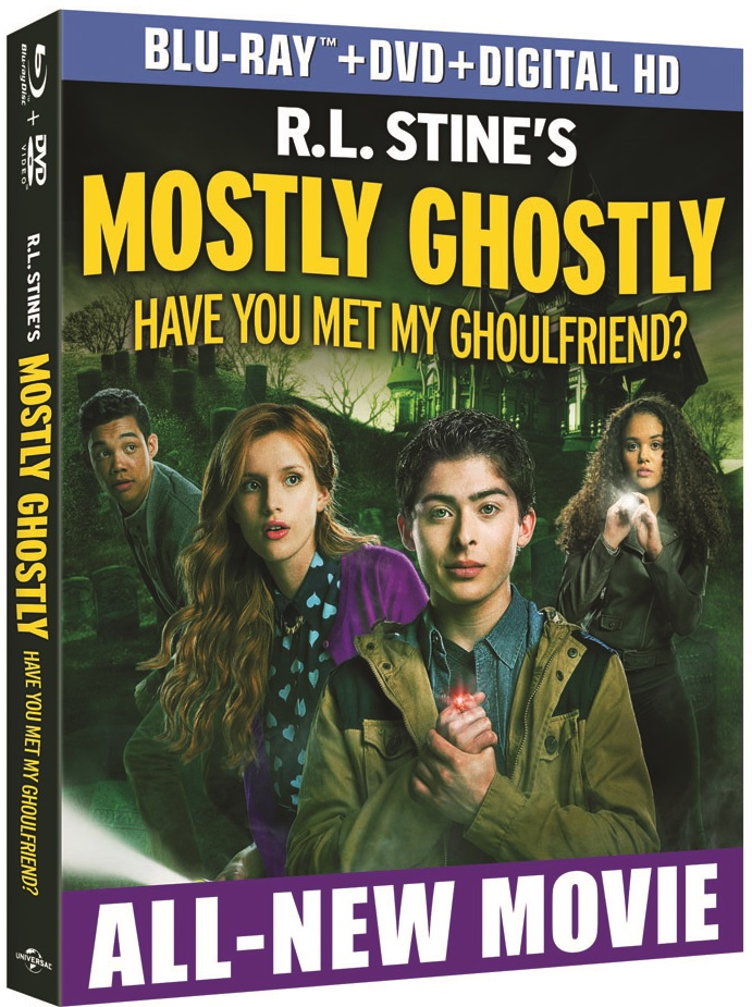 MOSTLY GHOSTLY: HAVE YOU MET MY GHOULFRIEND? Blu-ray