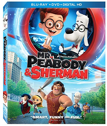 Mr. Peabody & Sherman (Blu-ray / DVD + Digital Copy)