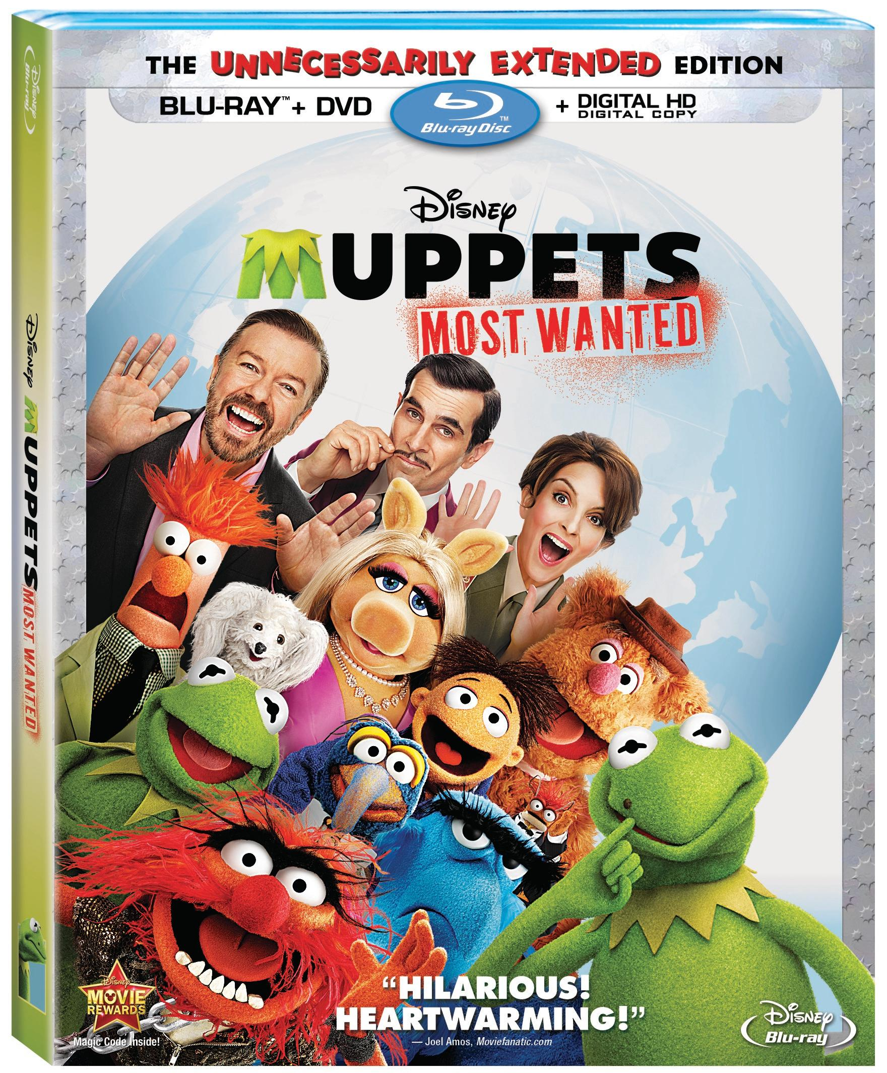 Muppets Most Wanted Blu-ray Review
