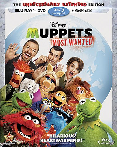 Muppets Most Wanted (Blu-ray + DVD + Digital HD)