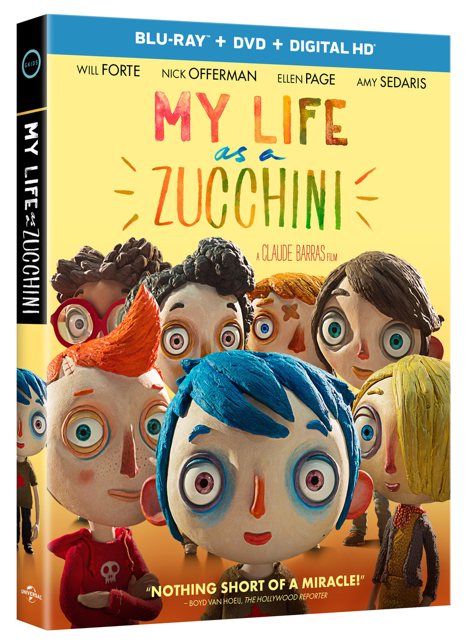 My Life As A Zucchini Blu-ray Review