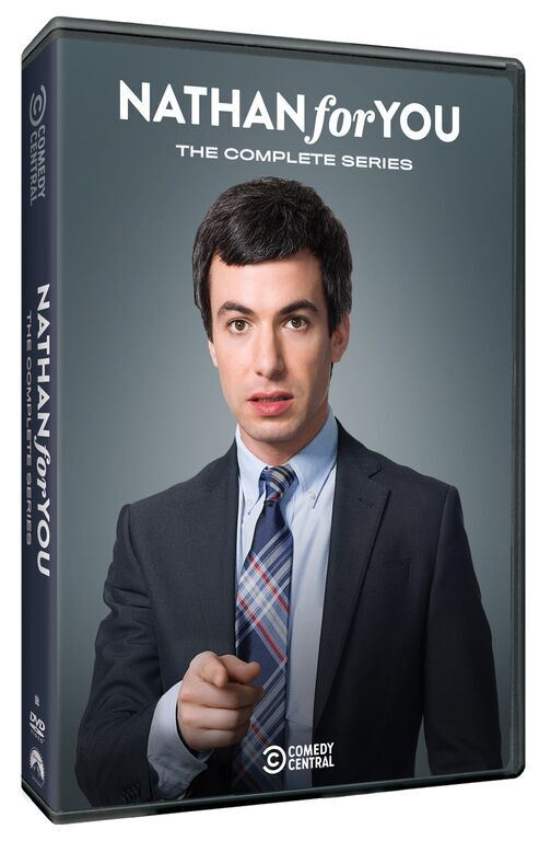 Nathan For you DVD