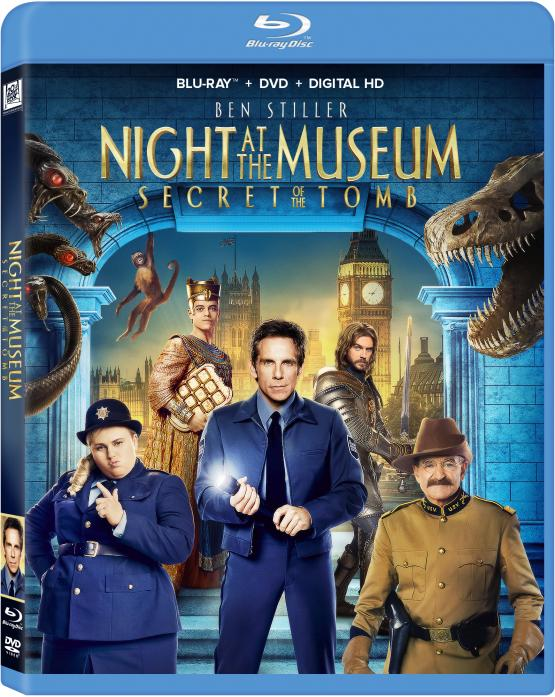 NIGHT A THE MUSEUM 3 Blu-ray