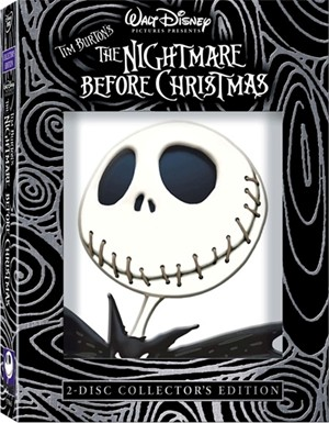 Nightmare Before Christmas DVD Cover