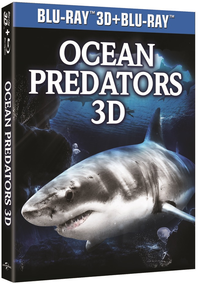Ocean Predators 3D Ice Bear Blu-ray