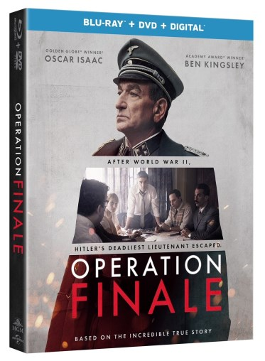 Operation Finale Blu-ray Review