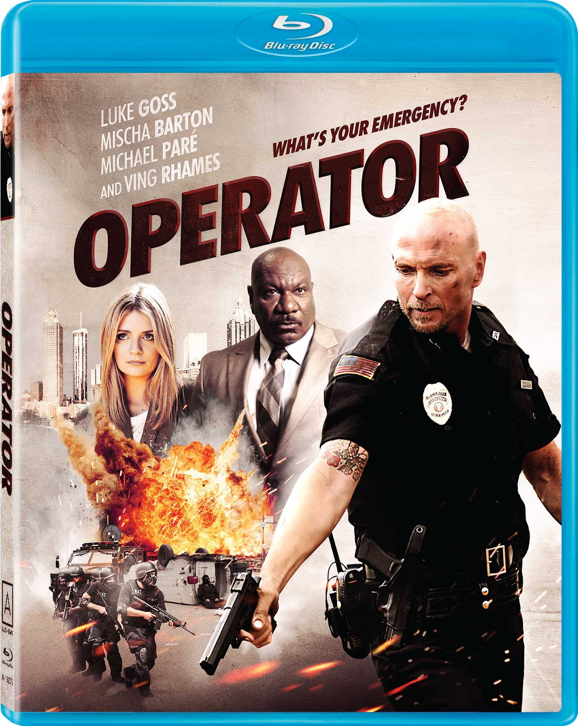 Operator Blu-ray Review