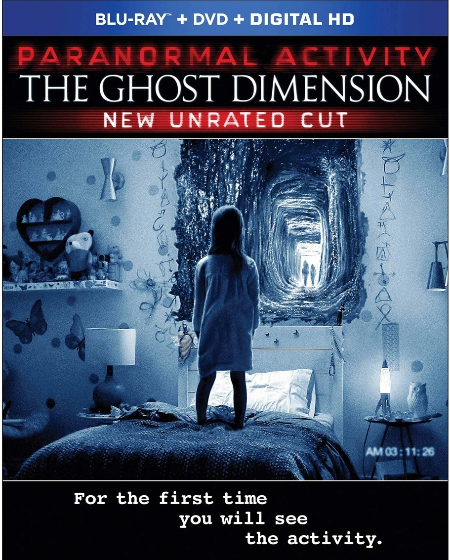 Paranormal Activity: The Ghost Dimension Blu-ray Review