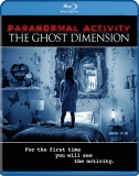 Paranormal Activity Ghost Dimension (Blu-ray + DVD + Digital HD)