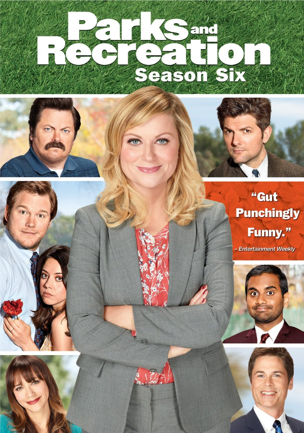 PARKS AND RECREATION SEASON 6 DVD