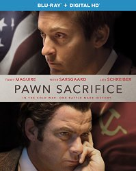 Pawn Sacrifice Blu-ray Cover