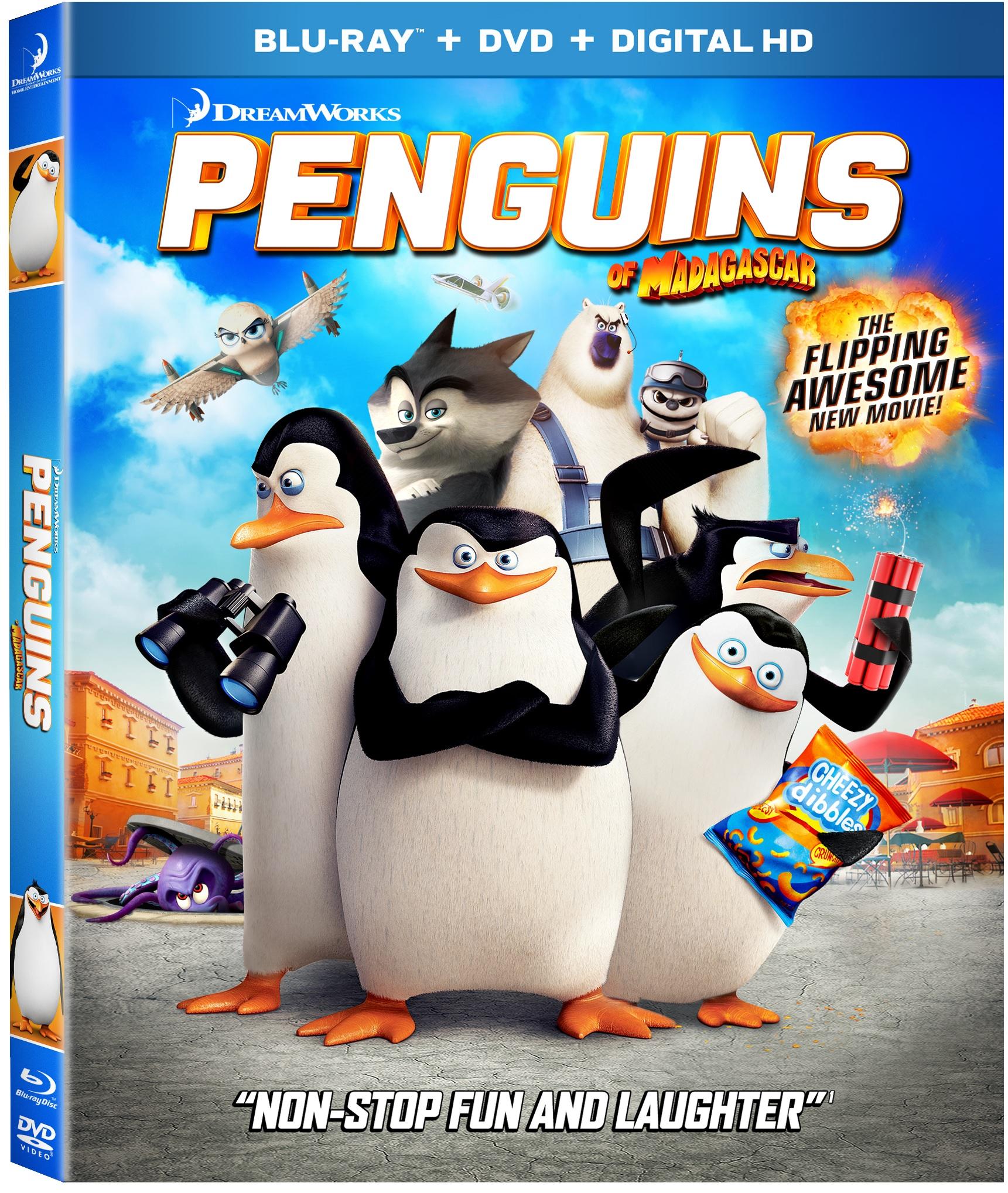THE PENGUINS OF MADAGASCAR Blu-ray