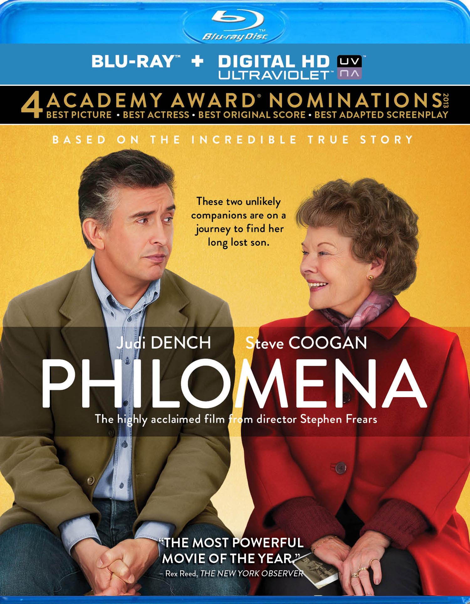 Philomena Blu-ray Review