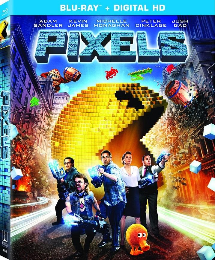 Pixels Blu-ray Review
