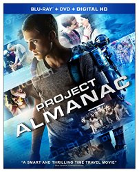 Project Almanac (Blu-ray + DVD + Digital HD)