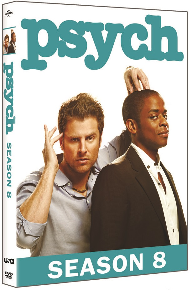 Pysch Season 8 DVD