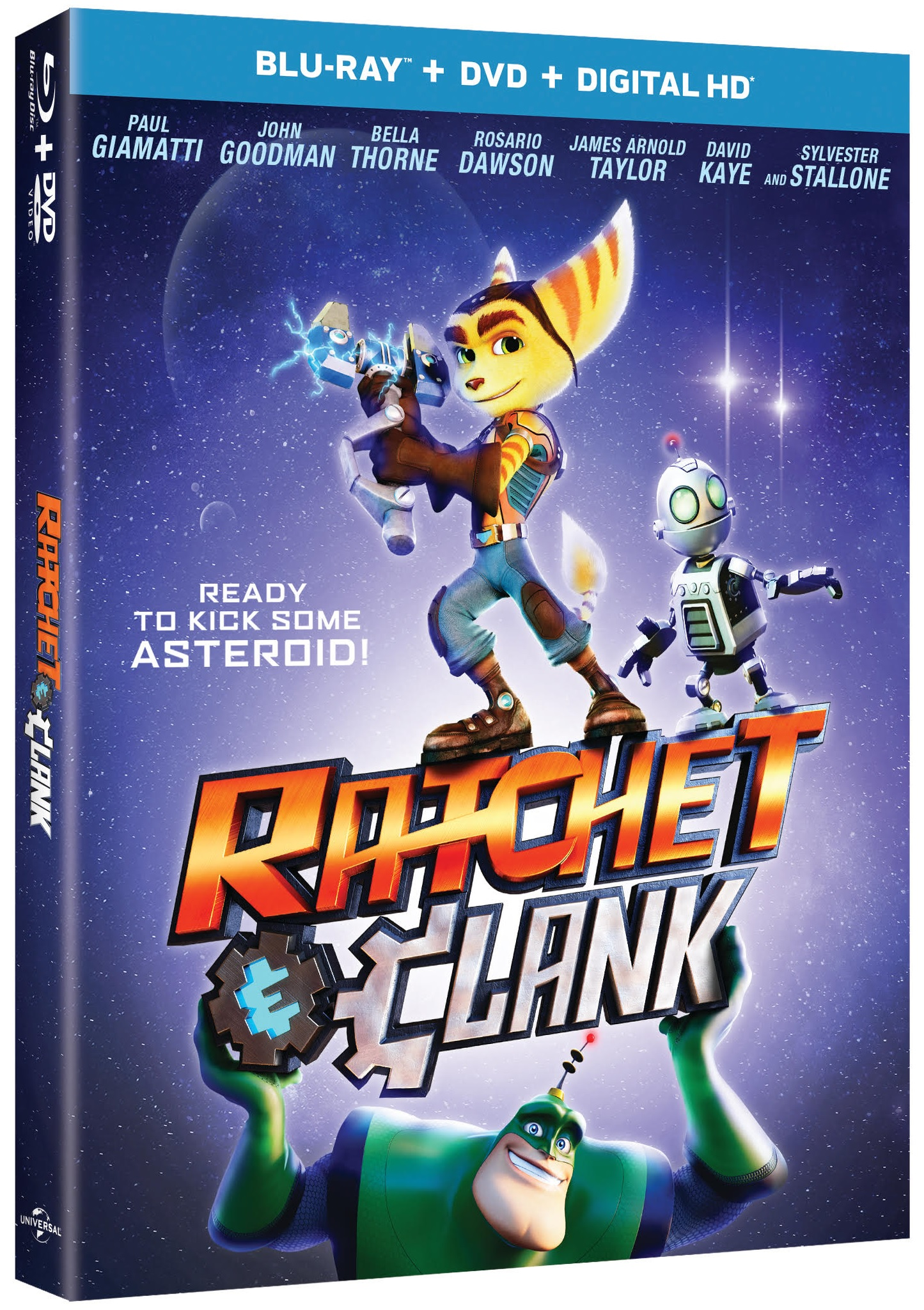 Ratchet And Clank Blu-ray Review