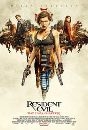 Resident Evil The Final Chapter (Blu-ray + DVD + Digital HD)