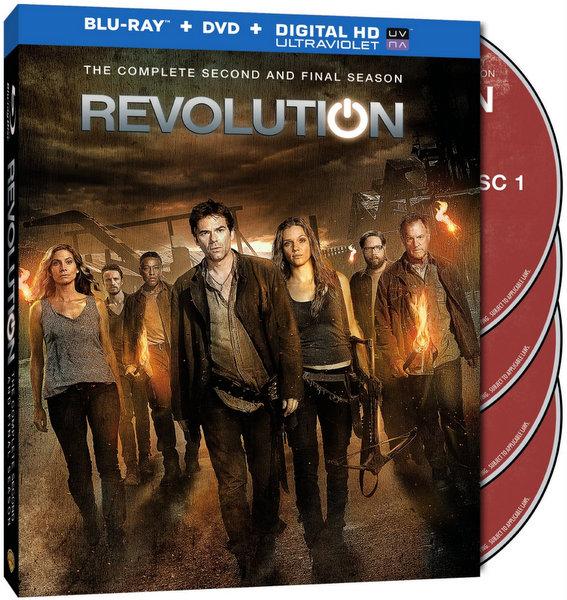 Revolution Season 2 Blu-ray