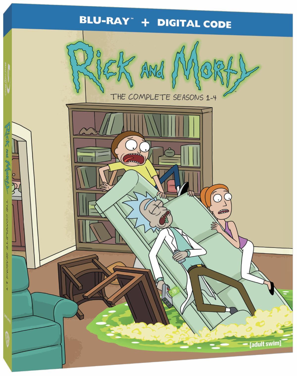rick-and-morty-season-1-4 -blu-ray