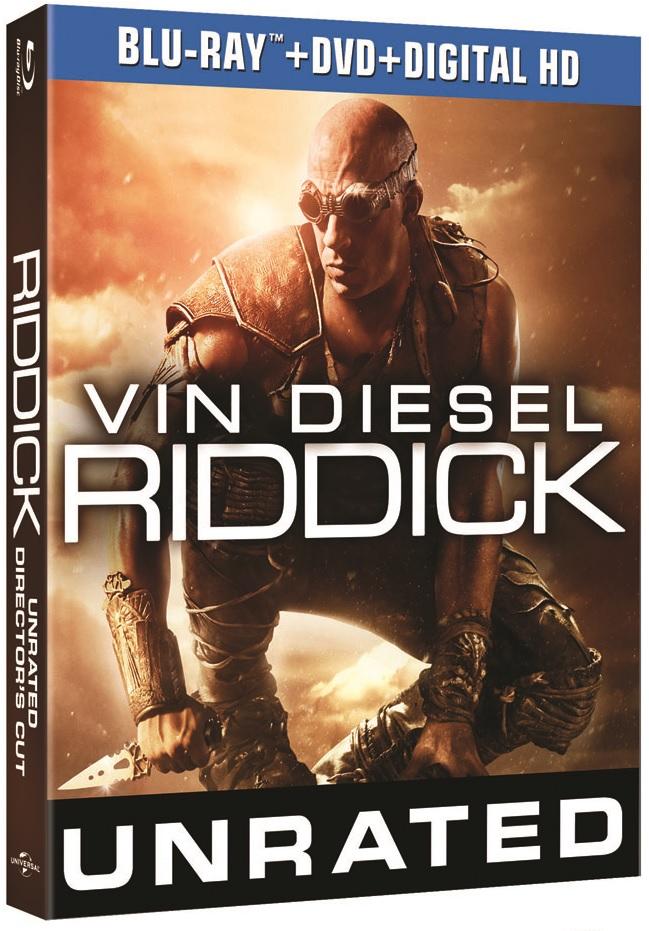 Riddick Blu-ray Review