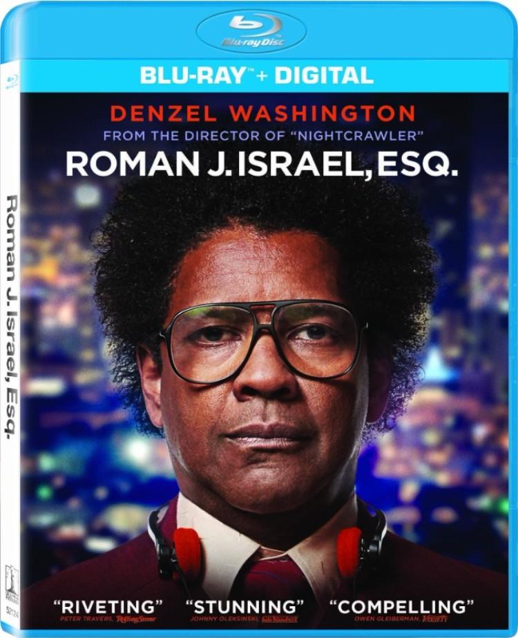 ROMAN J. ISRAEL ESQ Blu-ray