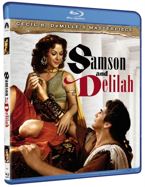 Samson and Delilah Blu-ray