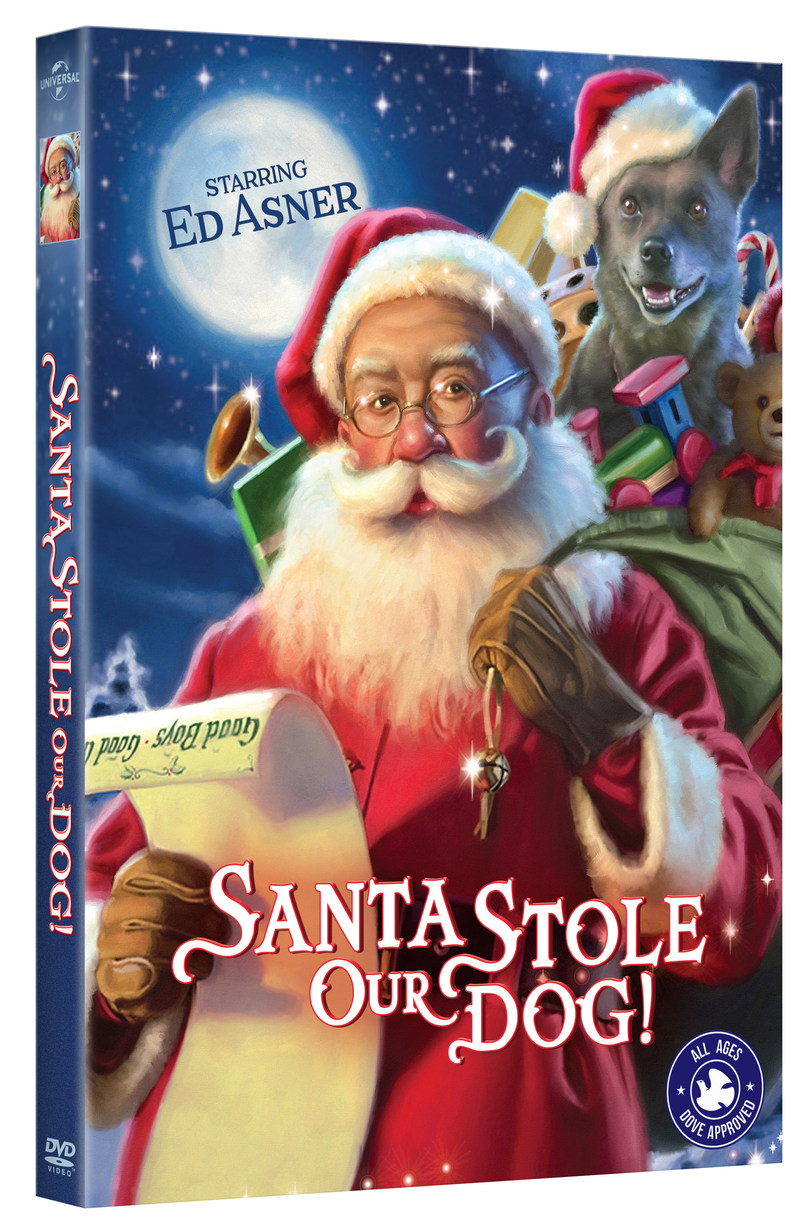 SANTA STOLE OUR DOG DVD