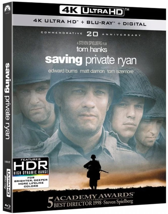 Saving Private Ryan Blu-ray Review