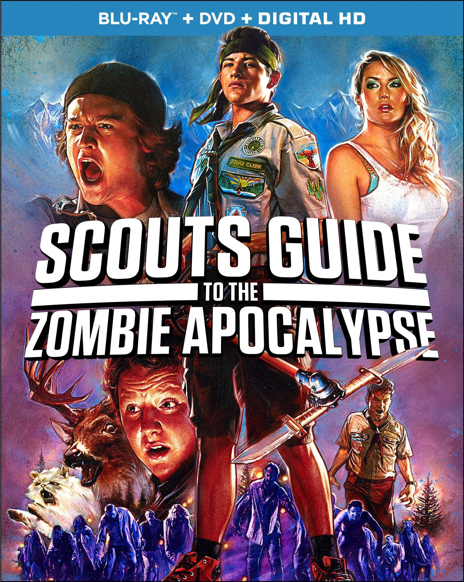Scouts Guide to the Zombie Apocalypse Blu-ray Review