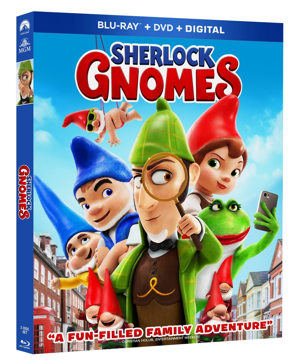 Sherlock Gnomes Blu-ray Review