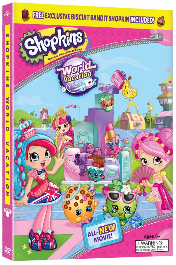 SHOPKINS: WORLD VACATION DVD