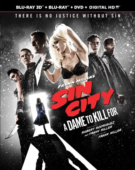 Sin City a Dame to Kill For (Blu-ray + DVD + Digital HD)