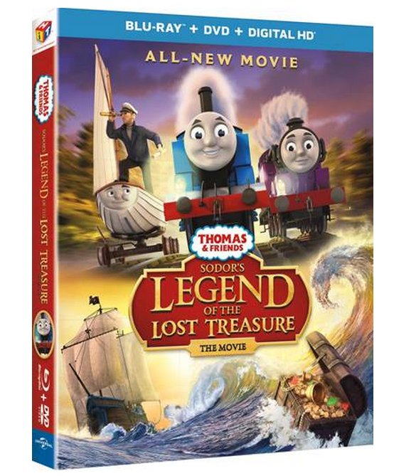 Sodor's Legend of The Lost Treasure The Movie Blu-ray Review