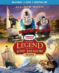 Odors Legend of the Lost Treasure Blu-ray Cover