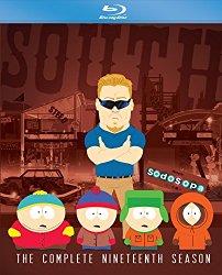 South Park Season 19 (Blu-ray + DVD + Digital HD)