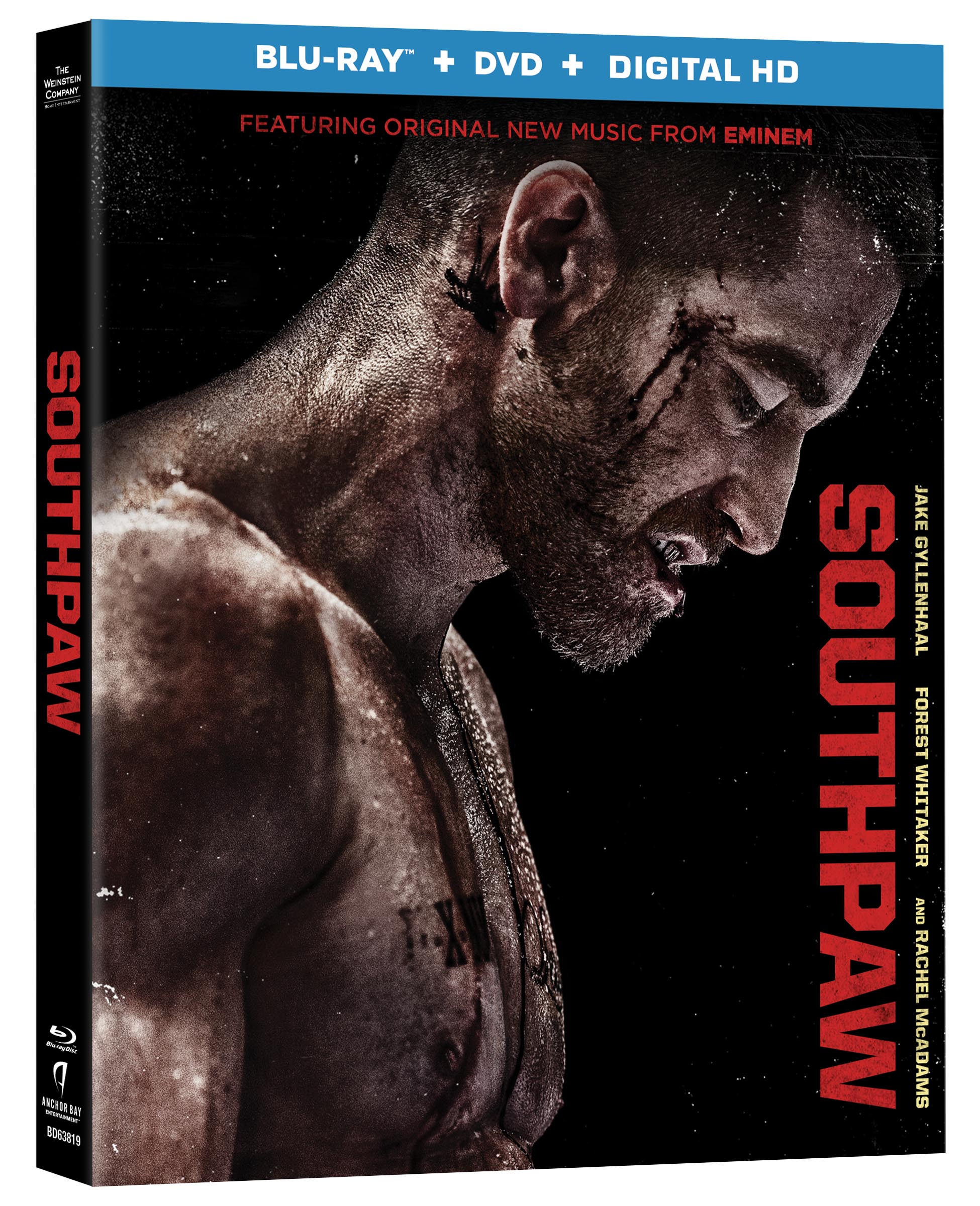 SouthPaw Blu-ray Review