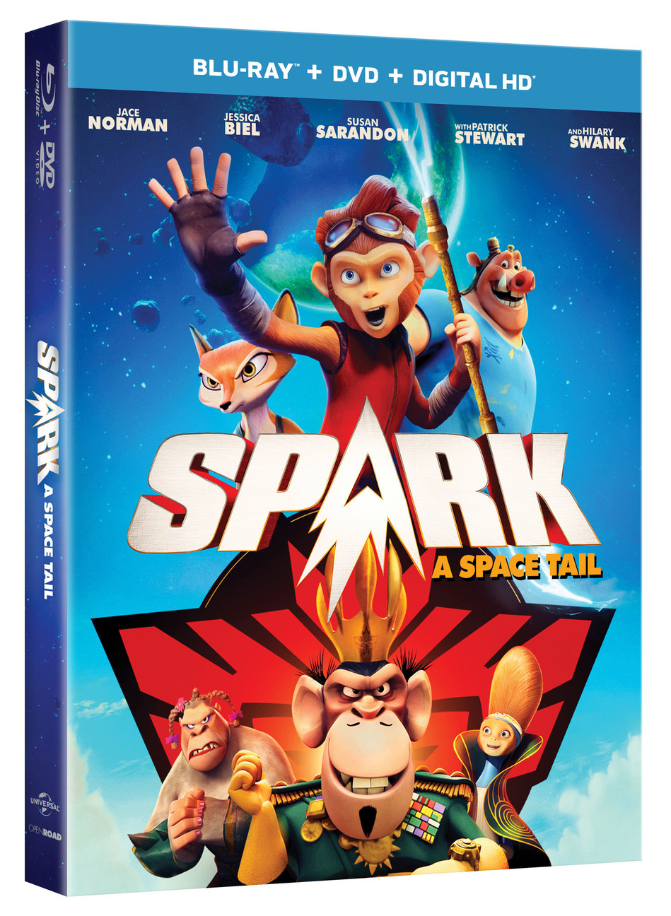 Spark A Space Tail Blu-ray Review