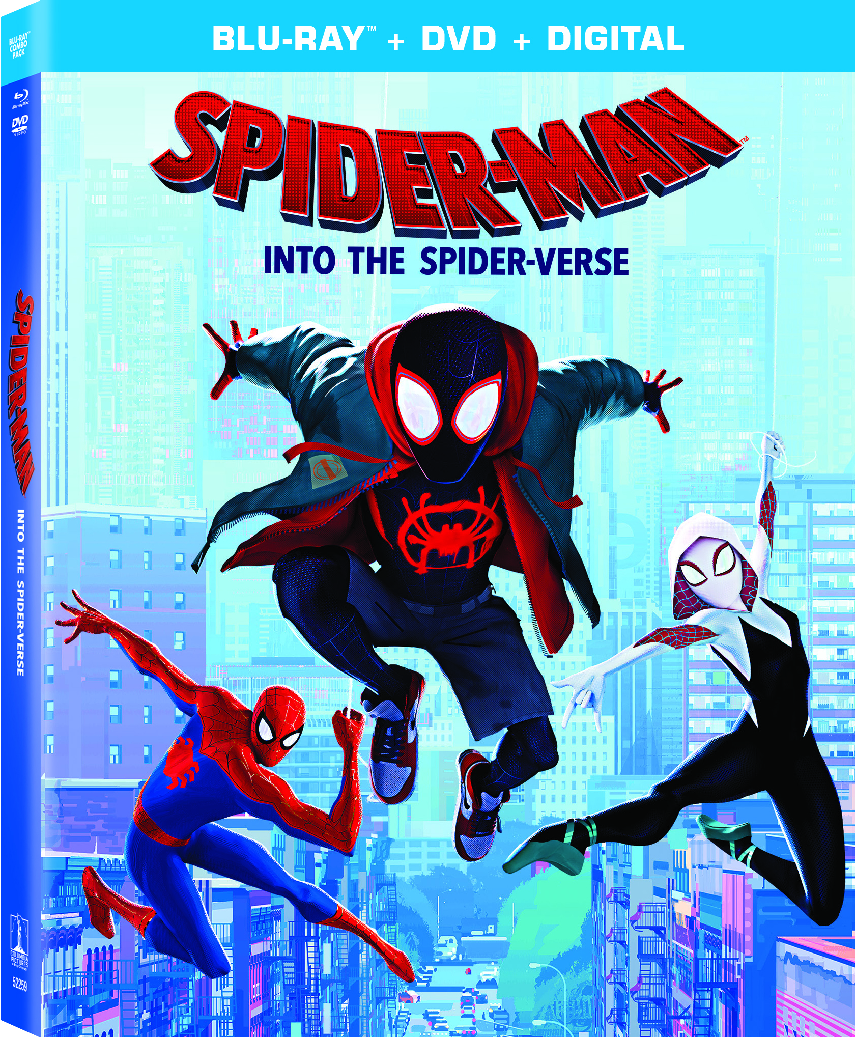 SPIDER-MAN: INTO THE SPIDER-VERSE, Blu-ray