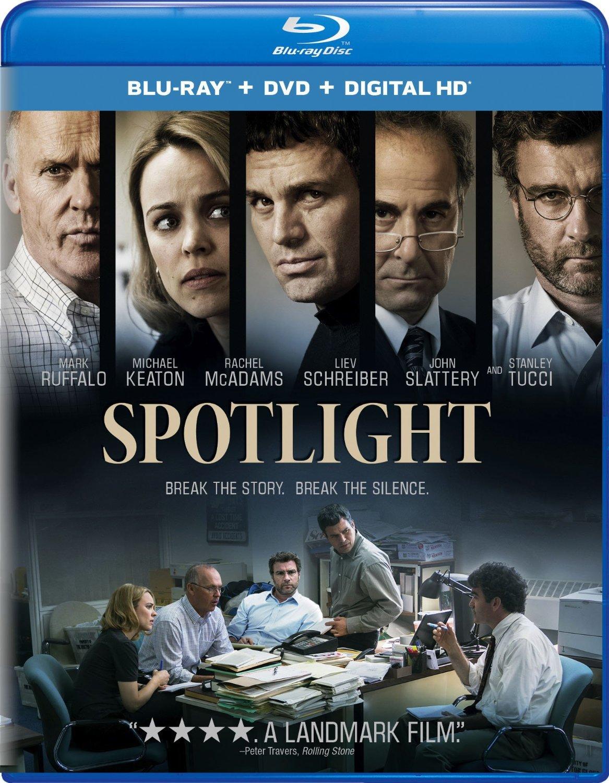 Spotlight Blu-ray Review